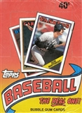 1988 Topps Baseball Factory Sealed Wax Box