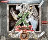 Upper Deck Yu-Gi-Oh Enemy of Justice 1st Edition Booster Box