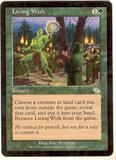 Magic the Gathering Judgment Single Living Wish LIGHT PLAY (NM)