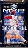 2002 Upper Deck MVP Baseball Hobby Box