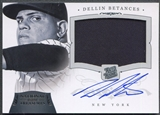 2012 Panini National Treasures #167 Dellin Betances Rookie Jersey Auto #21/99
