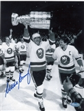 Mike Bossy Autographed New York Islanders 8x10 Photograph (Steiner)