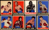 1948 Leaf Boxing Lot Of 52 Cards (40 Different)