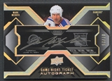 2008/09 UD Black #GNMM Mark Messier Game Night Tickets Auto #07/25
