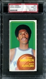 1970/71 Topps Basketball #91 John Warren PSA 9 (MINT) (OC) *1201