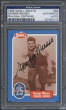 1988 Swell Greats #88 George Musso Signed Auto PSA DNA