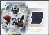 2004 Ultimate Collection #UGJMF Marshall Faulk Game Jersey #119/175