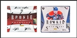 COMBO DEAL - 2012/13 & 2011/12 Panini Rookie Anthology Hockey Hobby Boxes