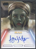 2013 Topps Star Wars Amy Allen Auto