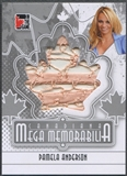2011 In The Game Canadiana #MM25 Pamela Anderson Mega Memorabilia Silver