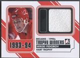 2013/14 ITG Decades 1990s #TW12 Sergei Fedorov Trophy Winners Jersey Black
