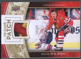2013-14 Upper Deck #GJDW Doug Wilson Game Jerseys Patch #11/15