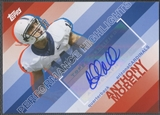 2008 Topps #THAAM Anthony Morelli Performance Highlights Rookie Auto