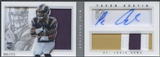 2013 Panini Playbook #235 Tavon Austin Signatures Silver Rookie Patch Auto #065/271