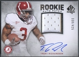 2012 SP Authentic #273 Trent Richardson Rookie Patch Auto #338/425