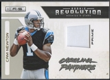 2011 Rookies and Stars #35 Cam Newton Rookie Revolution Materials Prime Patch #33/50