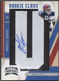 "2011 Panini Threads #251 Marcell Dareus Rookie Letter ""U"" Patch Auto #011/300"