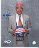 Bradley Beal Autographed Washington Wizards 8x10 Draft Day Photo (PSA)