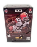 2012 Panini Crown Royale Football 8-Pack Blaster Box (10-Box Lot) - LUCK & WILSON ROOKIES!