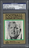 1985-88 Football Immortals #95 Jim Otto Signed Auto PSA/DNA