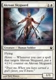Magic the Gathering Born of the Gods Single Akroan Skyguard NEAR MINT (NM)