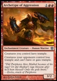 Magic the Gathering Born of the Gods Single Archetype of Aggression NEAR MINT (NM)