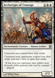 Magic the Gathering Born of the Gods Single Archetype of Courage NEAR MINT (NM)