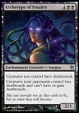 Magic the Gathering Born of the Gods Single Archetype of Finality NEAR MINT (NM)