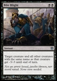 Magic the Gathering Born of the Gods Single Bile Blight Foil NEAR MINT (NM)