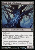 Magic the Gathering Born of the Gods Single Black Oak of Odunos NEAR MINT (NM)