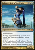 Magic the Gathering Born of the Gods Single Ephara, God of the Polis Foil NEAR MINT (NM)