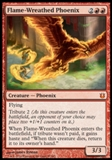 Magic the Gathering Born of the Gods Single Flame-Wreathed Phoenix NEAR MINT (NM)