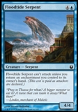Magic the Gathering Born of the Gods Single Floodtide Serpent NEAR MINT (NM)