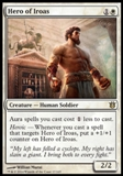 Magic the Gathering Born of the Gods Single Hero of Iroas NEAR MINT (NM)