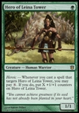 Magic the Gathering Born of the Gods Single Hero of Leina Tower Foil NEAR MINT (NM)