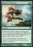 Magic the Gathering Born of the Gods Single Hunter's Prowess Foil NEAR MINT (NM)