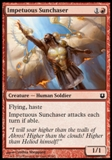 Magic the Gathering Born of the Gods Single Impetuous Sunchaser NEAR MINT (NM)