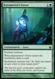 Magic the Gathering Born of the Gods Single Karametra's Favor NEAR MINT (NM)