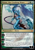 Magic the Gathering Born of the Gods Single Kiora, the Crashing Wave NEAR MINT (NM)