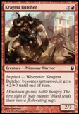 Magic the Gathering Born of the Gods Single Kragma Butcher NEAR MINT (NM)