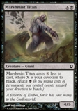 Magic the Gathering Born of the Gods Single Marshmist Titan NEAR MINT (NM)