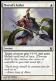 Magic the Gathering Born of the Gods Single Mortal's Ardor NEAR MINT (NM)