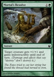 Magic the Gathering Born of the Gods Single Mortal's Resolve NEAR MINT (NM)