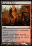 Magic the Gathering Born of the Gods Single Temple of Malice Foil NEAR MINT (NM)