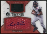 2012 Upper Deck SP Authentic Rookie Threads Autographs #RTIP Isaiah Pead Autograph /335