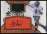 2012 Upper Deck SP Authentic Rookie Threads Autographs #RTBW Brandon Weeden Autograph /335