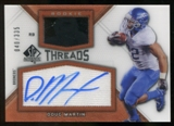 2012 Upper Deck SP Authentic Rookie Threads Autographs #RTDM Doug Martin Autograph /335
