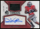 2012 Upper Deck SP Authentic Rookie Threads Autographs #RTDP DeVier Posey Autograph /335