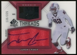 2012 Upper Deck SP Authentic Rookie Threads Autographs #RTJC Juron Criner Autograph /335