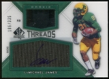 2012 Upper Deck SP Authentic Rookie Threads Autographs #RTLJ LaMichael James Autograph /335